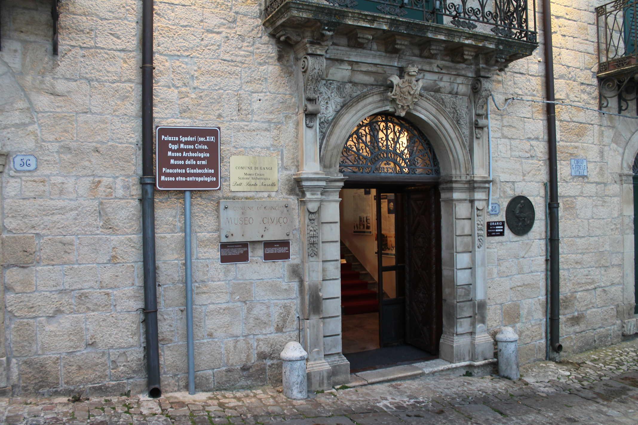 """Museo Civico """"Santo Naselli"""" di Gangi"""